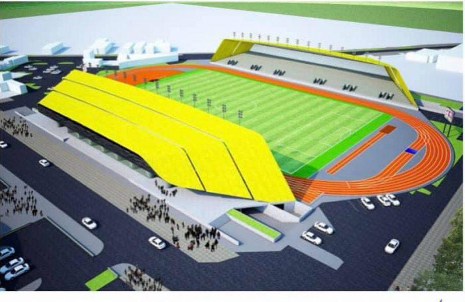FOTO Un nou stadion de 5 stele răsare în România! Ce capacitate va avea noua arenă