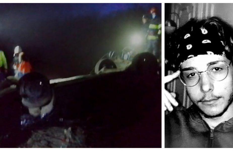 Lucian, 20 de ani, a murit în urma unui teribil accident. Trupul său a fost găsit sub maşina răsturnată lângă o cale ferată