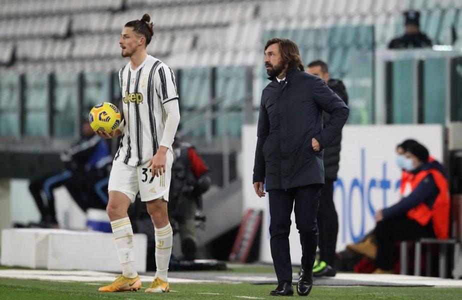 Andrea Pirlo, veste uriaşă pentru Radu Drăguşin. Românul are şanse mari să fie titular în Verona – Juventus