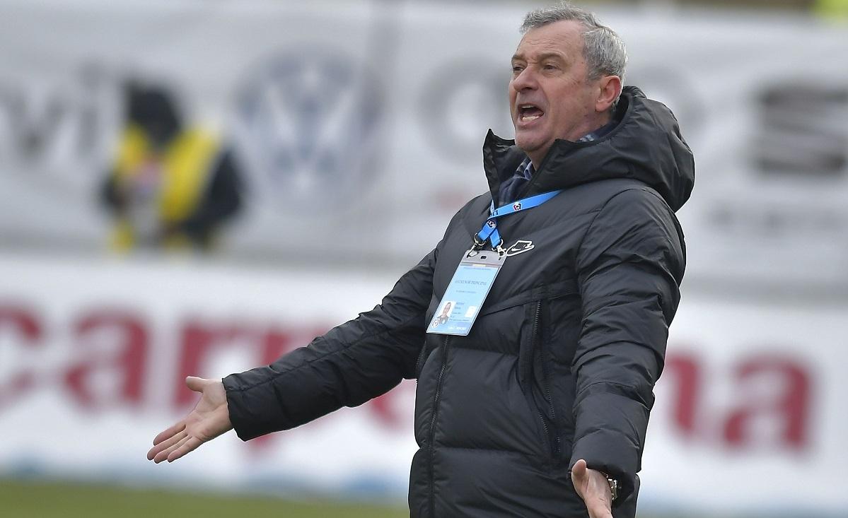 Mircea Rednic a răbufnit după meciul din Ştefan cel Mare