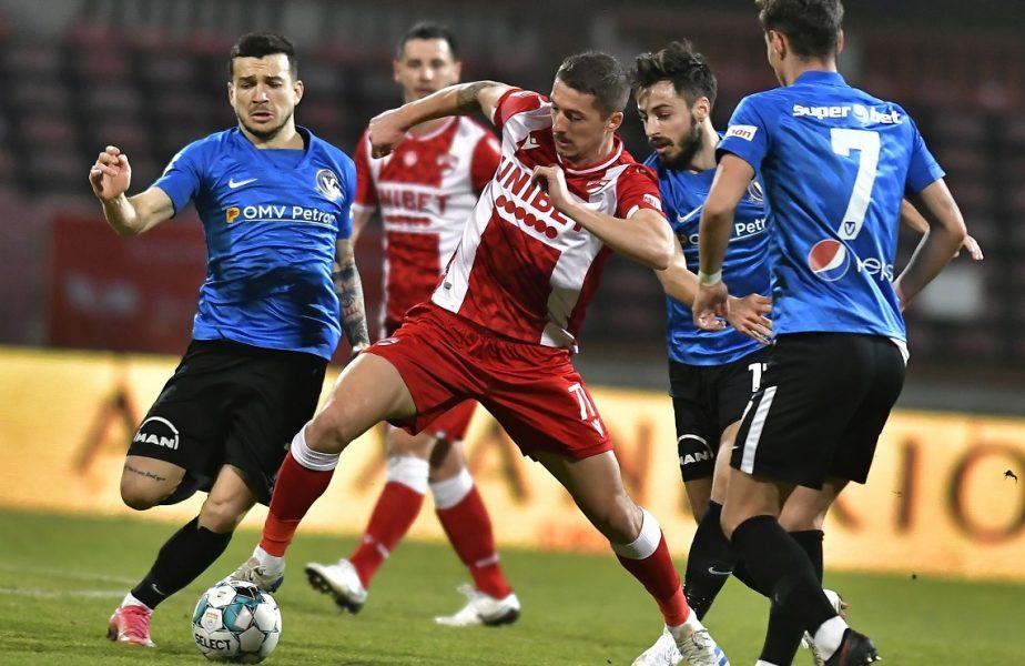 """""""Nu suntem o echipă!"""". Căpitanul lui Dinamo a răbufnit după ruşinea cu Viitorul. Ce spune despre posibila demitere a lui Jerry Gane"""
