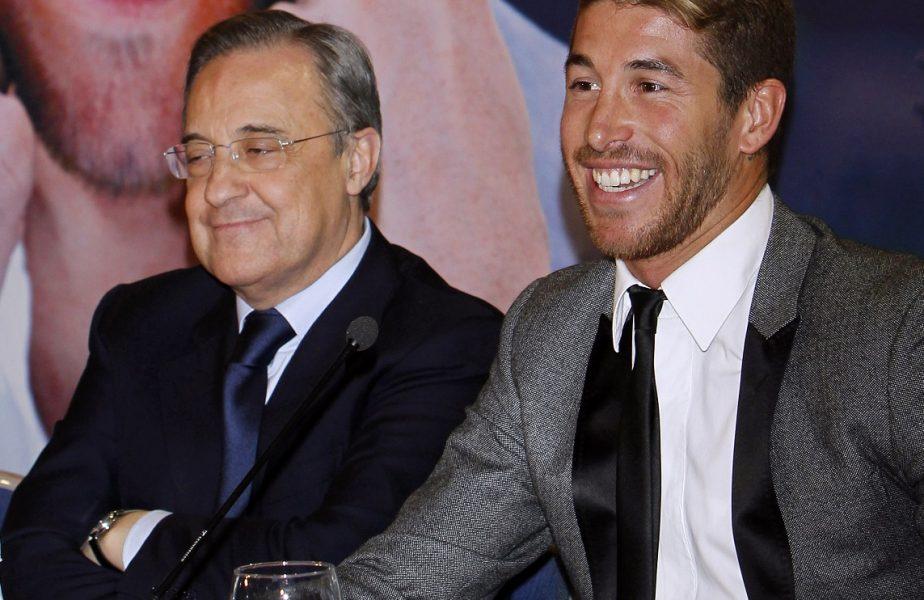 Ce lovitură! Sergio Ramos a bătut palma cu Florentino Perez pentru prelungirea contractului cu Real Madrid! Anunţul făcut de spanioli