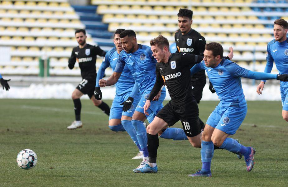 """Academica Clinceni – Astra 1-1. Remiză în """"finala"""" pentru play-off! Golul superb al lui Adi Popa nu a fost suficient. A treia remiză la rând a gazdelor"""