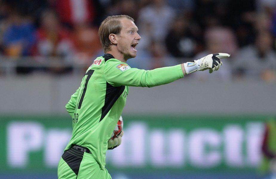Mutare de titlu făcută de CFR Cluj! Giedrius Arlauskis revine în Gruia. Lituanianul, pregătit să îl lase pe bancă pe Bălgrădean