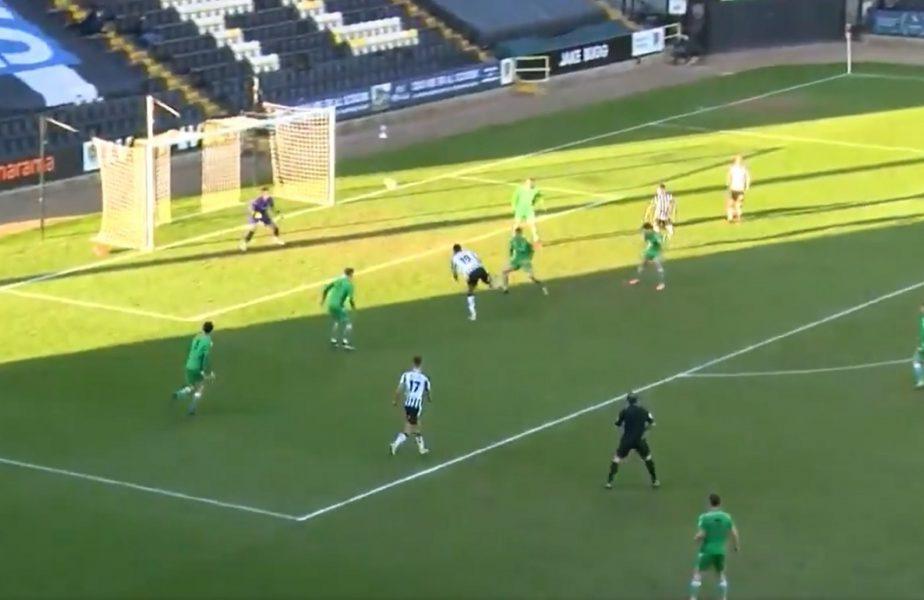 VIDEO   S-a marcat cel mai tare gol din 2021! Un jucător din liga a 5-a a lăsat mască pe toată lumea. A înscris în stilul lui Zlatan Ibrahimovic