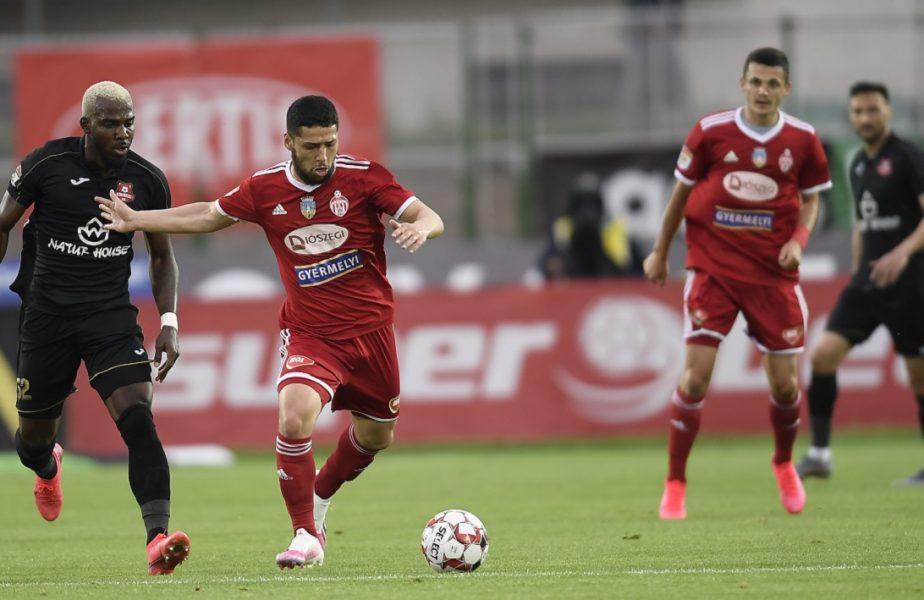 Hermannstadt – Sepsi 1-2. Gruparea din Sfântu Gheorghe a câştigat şi e cu un pas şi jumătate în play-off