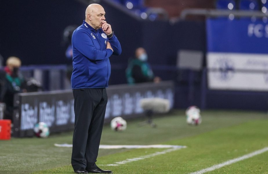 Schalke, dezastru de neimaginat! A fost demis al 4-lea antrenor din acest sezon. Echipa din Gelsenkirchen e ultima în Bundesliga