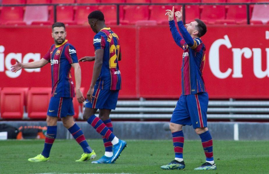 Lionel Messi, idol pentru puștii Barcelonei! Reacția fabuloasă a unui jucător de 18 ani, după ce i-a dat pasă de gol starului argentinian