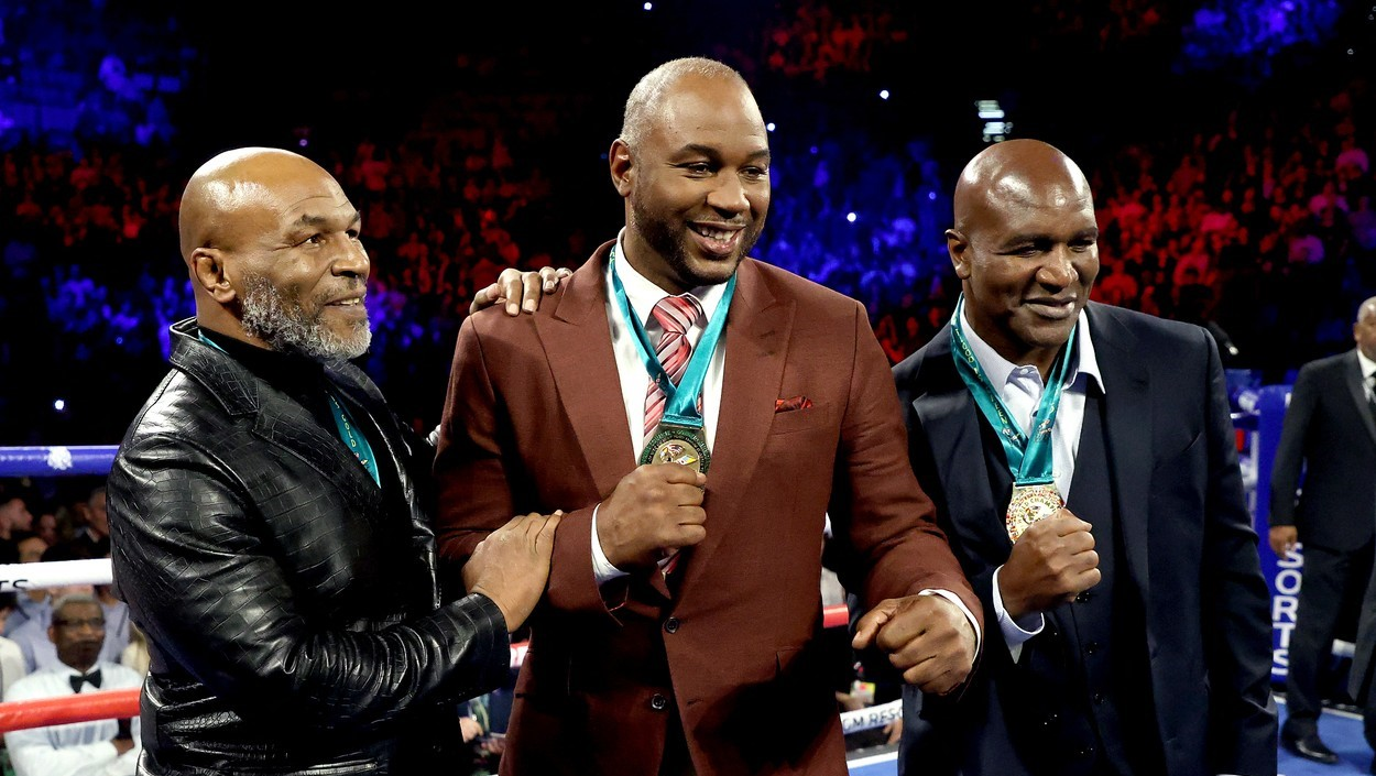 Tyson, Lewis și Holyfield