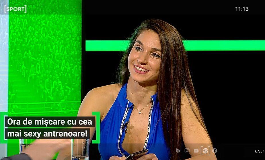 """EXCLUSIV AS.ro LIVE   A venit primăvara, dar și fata cu mișcarea! """"În total am slăbit un elefant!"""" Diana Stejereanu, despre cum să scapi de kilogramele în plus"""