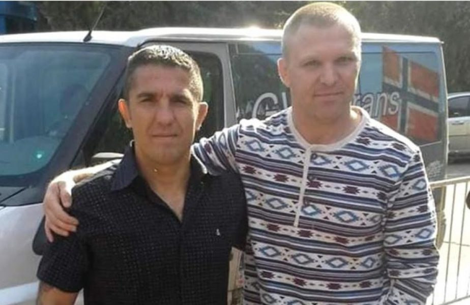Vasile este acuzat de răpire internaţională de copii şi de faptul că şi-ar fi bătut soţia în plină stradă. Este un fost campion la lupte