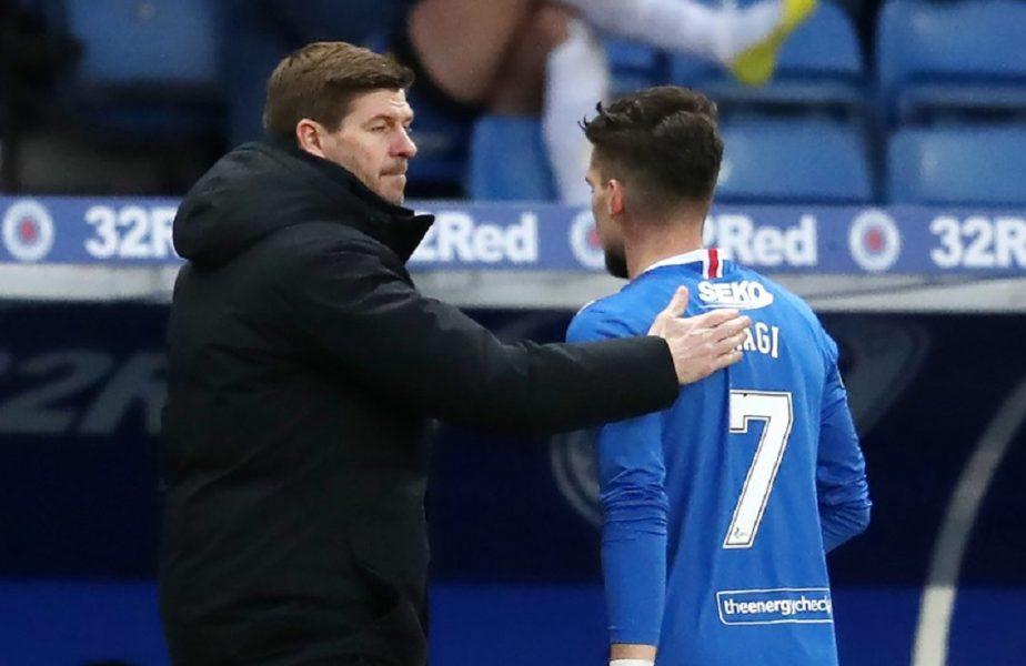 Victorie uriaşă pentru echipa lui Ianis Hagi. Steven Gerrard, eliminat în Livingston – Rangers 0-1. Riscă să sărbătorească din tribună câştigarea titlului!