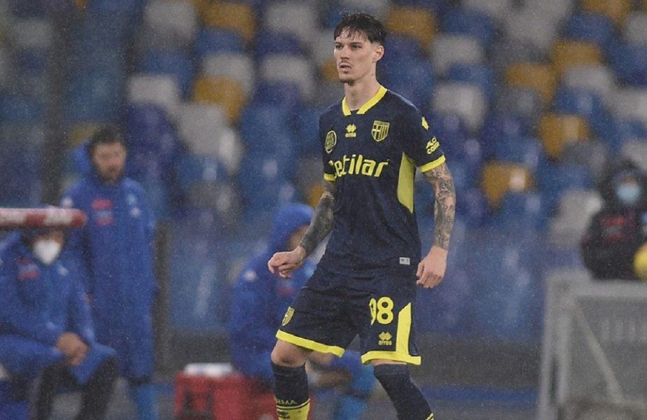 Parma – Inter 1-2 | Cât ghinion! Dennis Man, accidentat la primul meci ca titular în Serie A! A fost schimbat cu Valentin Mihăilă