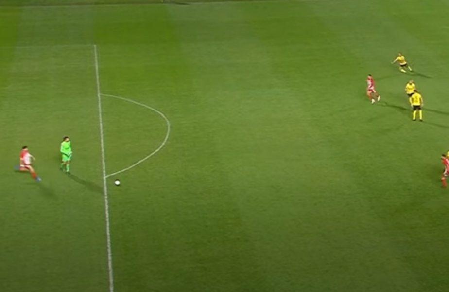 VIDEO | Cristi Ganea și-a pus mâinile în cap! Ce a putut să facă portarul lui Aris în meciul cu Olympiacos. Gafa care a scos echipa românului din Cupa Greciei