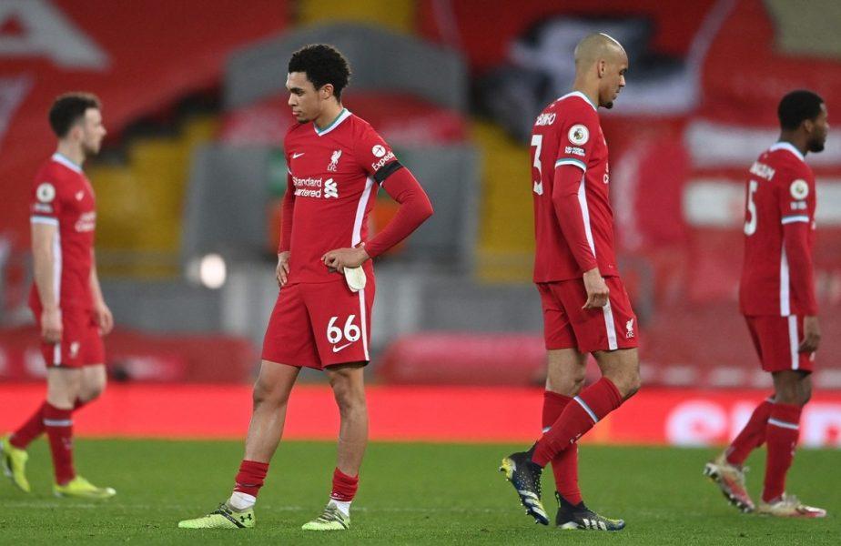 Liverpool – Chelsea 0-1 | Serie dezastruoasă pentru campioana Angliei. Starurile lui Klopp riscă să nu se califice în Champions League!