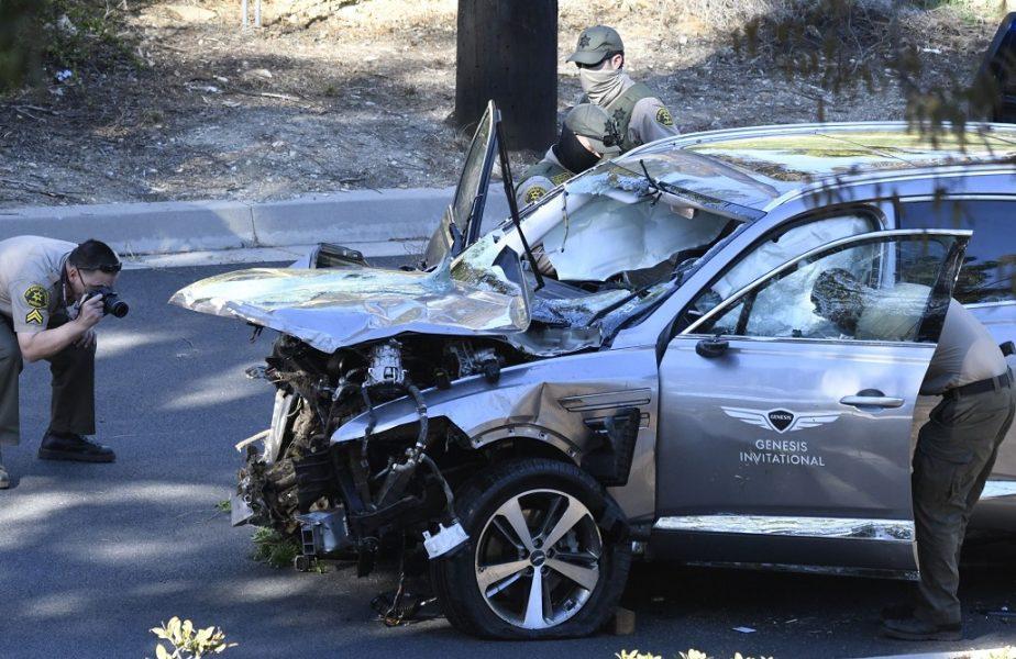 """Dezvăluiri şocante despre accidentul în care a fost implicat Tiger Woods. """"Nu îşi aduce aminte să fi fost la volan"""""""