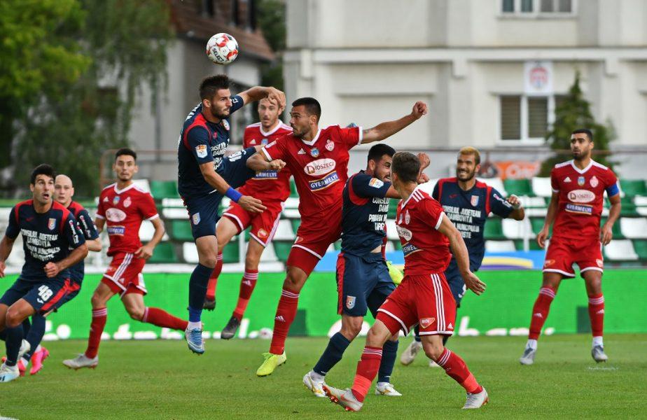 Sepsi – Chindia 0-1. Surpriză mare în Liga 1. A patra clasată a fost învinsă după 9 etape. Oaspeţii, aproape de play-off