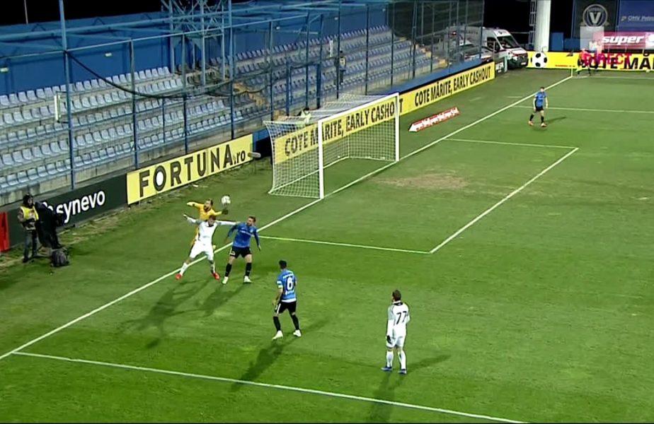 """Scandal după Viitorul – Clinceni 1-1! """"Penalty clar! Dă-ne ce e al nostru!"""" Ilie Poenaru şi-a făcut praf jucătorii pentru golul din minutul 90+1"""