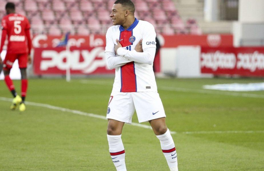 VIDEO | Kylian Mbappe, gol de pus în ramă în Brest – PSG 0-3. A rupt plasa cu un șut în vinclu, după o cursă de 40 de metri