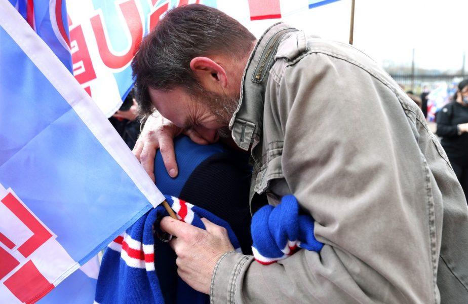 VIDEO | Fanii lui Rangers, copleşiţi de emoţii! A început fiesta pe străzile din Scoţia. Echipa lui Ianis Hagi şi Steven Gerrard e campioană după 10 ani