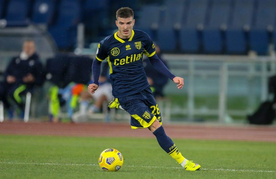 Valentin Mihăilă, primul gol în Serie A! Internaţionalul român a marcat în thriller-ul cu Fiorentina. Dennis Man a contribuit decisiv la reuşita colegului său