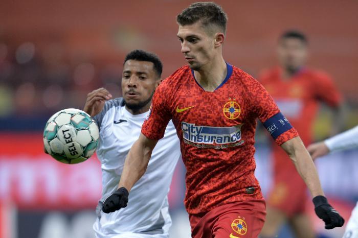 FCSB – Gaz Metan 1-0. Victorie dramatică! Florin Tănase a marcat în minutul 90+2. A fost primul şut pe poartă al roş-albaştrilor, care sunt din nou lideri