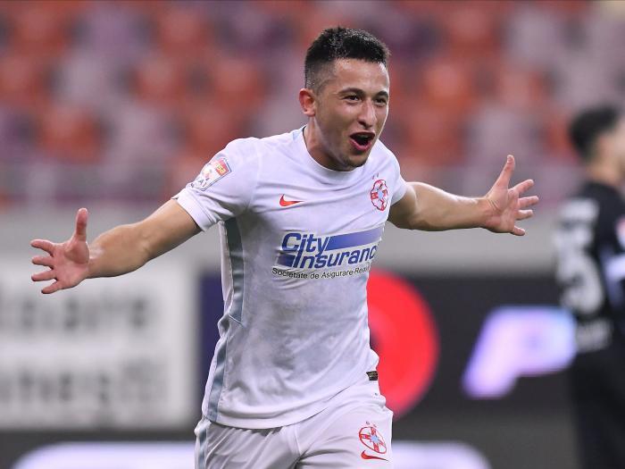 """FCSB – Gaz Metan 1-0   Provocarea lui Moruţan pentru CFR Cluj. """"O să vedem cine e mai bun în meciul direct"""". Ce a spus despre Gigi Becali"""
