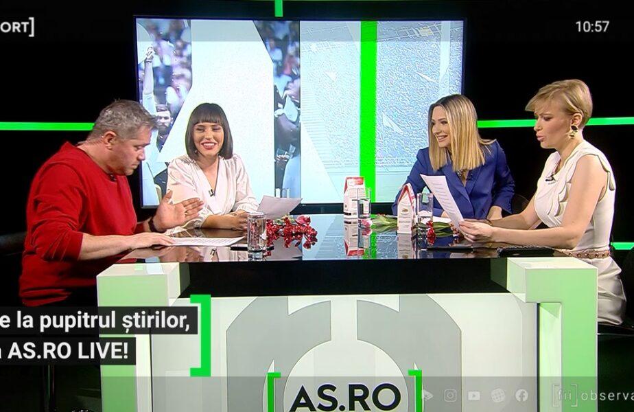 EXCLUSIV AS.ro LIVE | Experiență inedită pentru prezentatoarele AntenaSport! Au fost puse să citească, la prima vedere, numele jucătorilor din naționala de rugby a Madagascarului