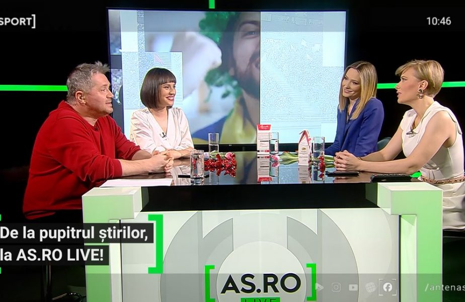 EXCLUSIV AS.ro LIVE | Prezentatoarele AntenaSport, despre prima apariție la pupitrul știrilor! Dezvăluiri inedite făcute de Alexandra Tudor, Camelia Bălțoi și Roxana Ghiorghian