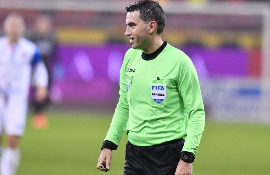 """Ovidiu Haţegan îi arbitrează pe Ianis Hagi şi Nicolae Stanciu în Europa League. Meci de top primit după decizia luată de UEFA în """"cazul Colţescu"""""""