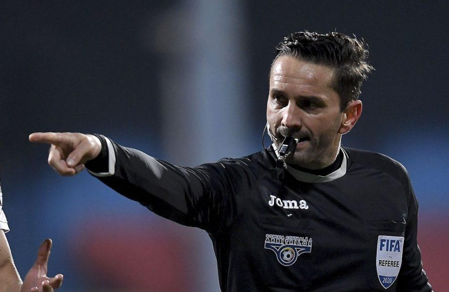 UEFA a făcut lumină în cazul Colţescu! În ce competiţii este suspendat arbitrul român, după scandalul de rasism de la Paris