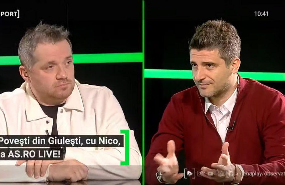 """EXCLUSIV AS.ro LIVE   Daniel Niculae, amintiri senzaţionale de la Rapid. Cum şi-a primit """"botezul"""" şi de ce a fost pălmuit de Adi Iencsi. """"Voi vă daţi viaţa?"""""""