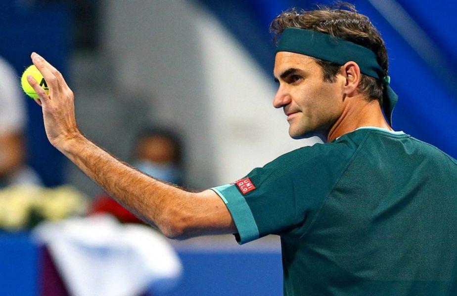 Roger Federer, revenire în forță! Elvețianul a câștigat prima partidă jucată după 405 zile de pauză
