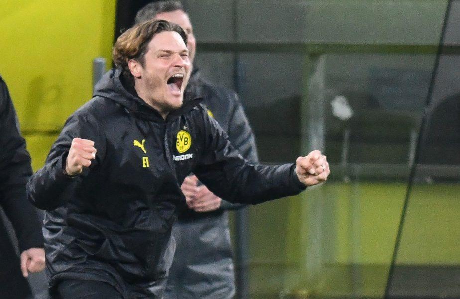 """A dus Borussia în primele opt echipe din Europa, dar nu rămâne! """"Interimarul"""" Terzic, cel mai tânăr tehnician din CL"""