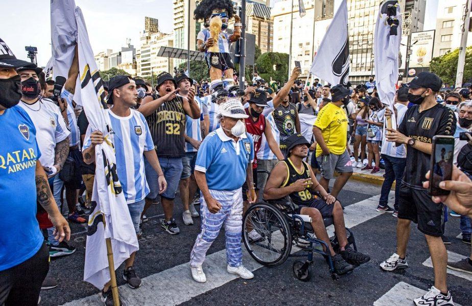 Protest la Buenos Aires
