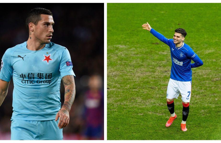 Slavia Praga – Rangers 1-1! Nicolae Stanciu şi Ianis Hagi au făcut show. Primul a reuşit un gol fabulos, Ianis a dat o pasă decisivă