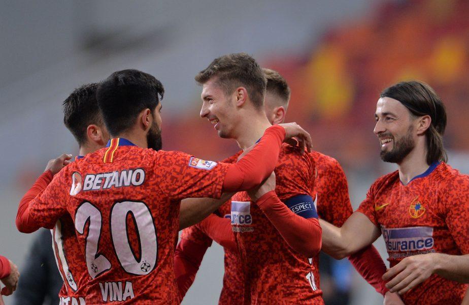 UTA – FCSB 0-1 | Formaţia roş-albastră şi-a consolidat poziţia de lider în Liga 1. Moruţan a marcat cu o super lovitură de cap. Urmează derby-ul cu CFR!