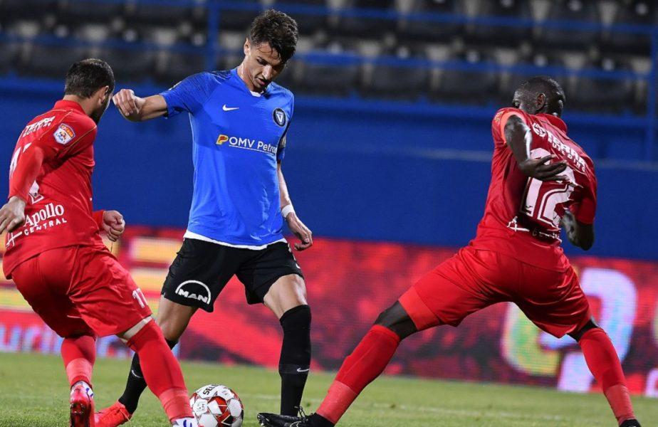 Hermannstadt – Viitorul 0-0. Un nou pas greşit făcut de echipa lui Mircea Rednic. Constănţenii îşi poate lua gândul la play-off!