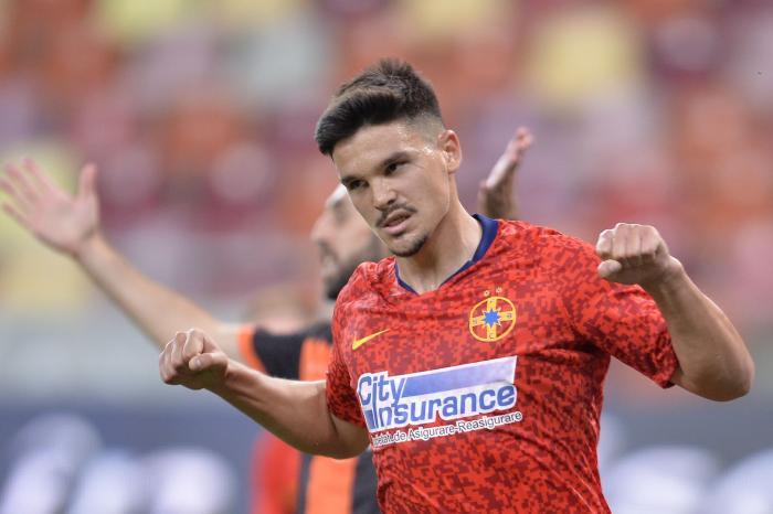 """Alexandru Buziuc l-a făcut pe Becali să exulte cu un gol fabulos! Atacantul FCSB, voleu de excepţie în """"Războiul Stelelor"""""""