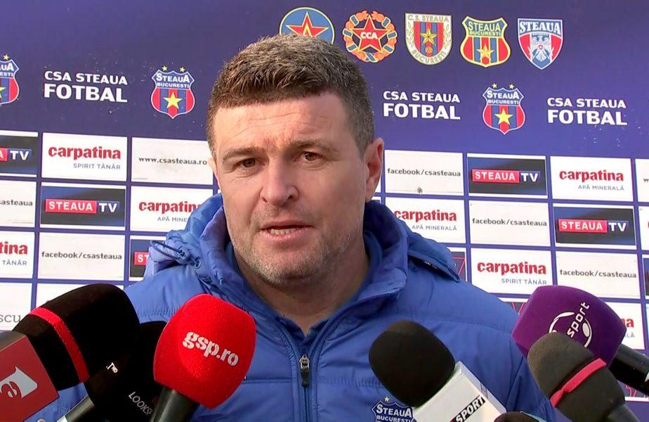 """Daniel Opriţa, prima reacţie după Steaua – FCSB II 1-1. """"Meritam să câştigăm la 3 goluri, ei au fost fricoşi!"""". Atac cu talpa la arbitru! """"Viciere de rezultat"""""""