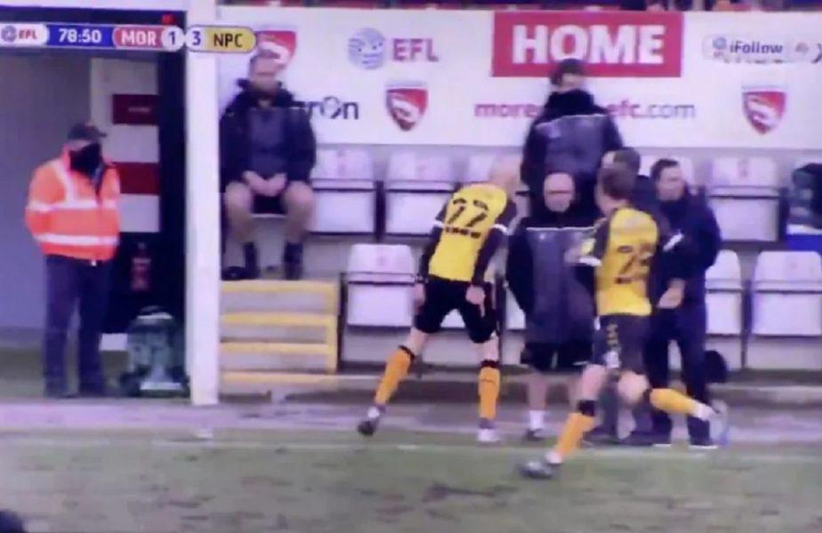 VIDEO | Fază virală! Un jucător a alergat la banca adversă și s-a bucurat în fața antrenorului care l-a dat afară de la fosta echipă