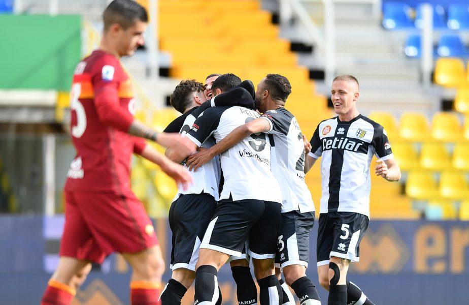 Mihăilă şi Man, comparaţi de italieni cu Hagi şi Răducioiu după Parma – Roma 2-0! Românii au primit cele mai mari note