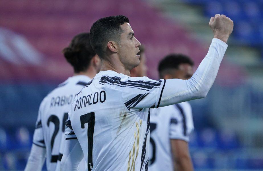 Cristiano Ronaldo a cucerit Italia! A marcat un hattrick perfect pentru Juventus. Performanţa incredibilă reuşită de portughez. Cum s-a bucurat în faţa camerei