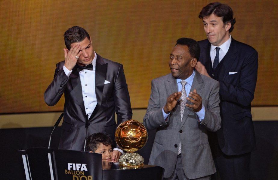 """Cristiano Ronaldo, mesaj fascinant după 770 de goluri înscrise în întreaga carieră! """"Sunt mândru că am devenit cel mai bun golgheter al lumii"""" I-a mulţumit lui Pele. Răspunsul legendei Braziliei"""