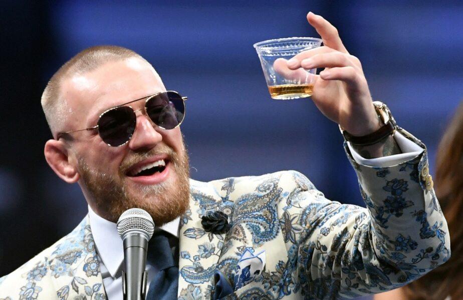 McGregor a dat lovitura! Suma uriașă încasată după ce și-a vândut whiskey-ul unor mexicani