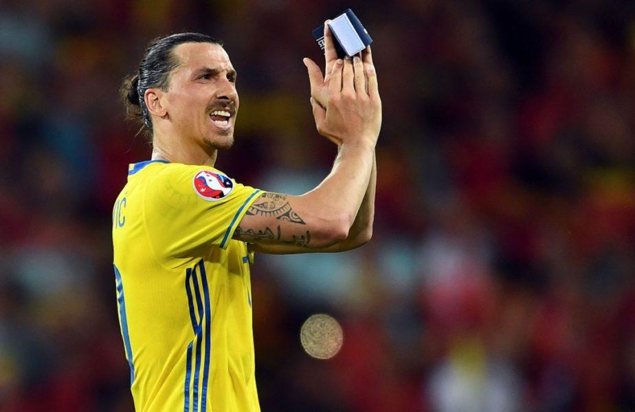 Zlatan Ibrahimovic, revenire de senzație! Veteranul de 39 de ani a fost chemat la națională după 5 ani de pauză