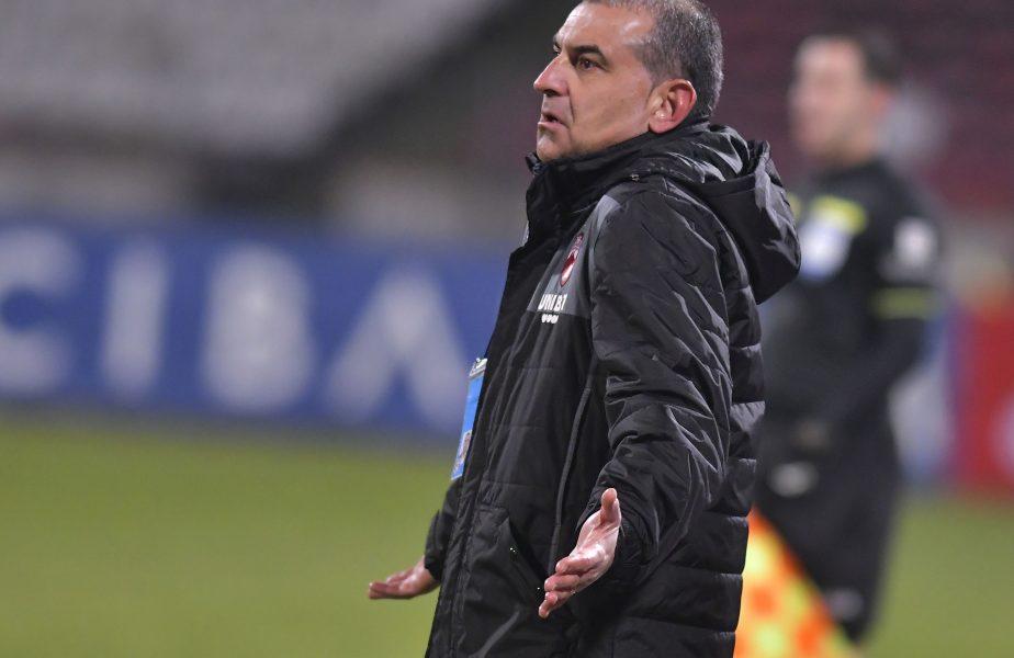 """Jerry Gane şi-a dat demisia de la Dinamo, după al 7-lea meci consecutiv fără victorie: """"Am făcut tot ce am putut"""""""