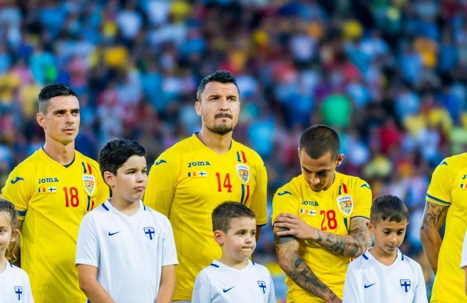 Constantin Budescu, în tricoul naţionalei