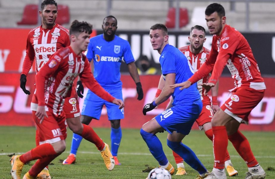 Universitatea Craiova – UTA Arad 2-0. Victorie clară pentru echipa lui Ouzounidis! Oltenii pun presiune pe CFR Cluj și FCSB