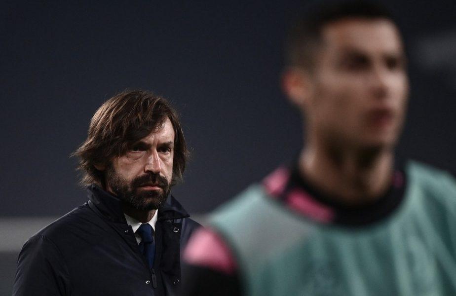 """""""Juventus formează o ruşine de echipă!"""" Atac fără precedent din interior. De ce este acuzat Andrea Pirlo"""